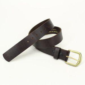 Horsey Habit Saddlery Brown Leather Belt